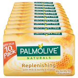 Palmolive Soap Bar Milk & Honey 90g 4 Pack x12
