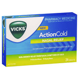 Vicks Action Cold Nasal Relief 24