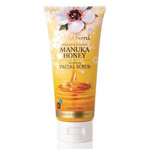 Wild Ferns Manuka Honey Face Scrub 100mL