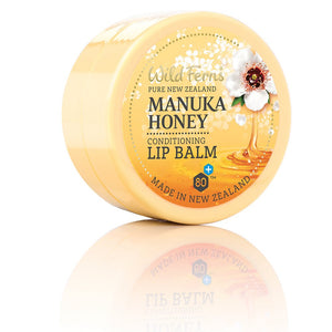 Wild Ferns Manuka Honey  Lip Balm 15g