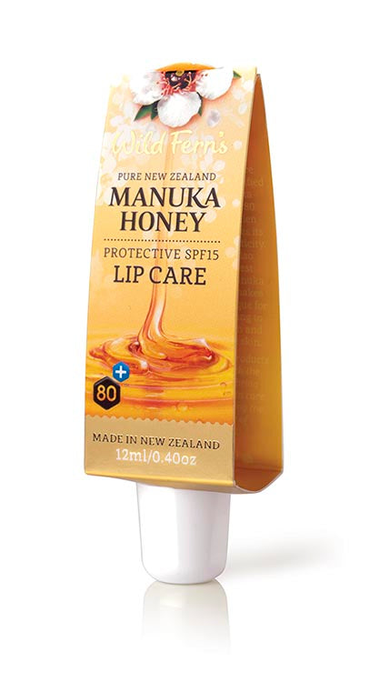 Wild Ferns Manuka Honey Lip+SPF 12mL