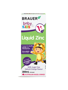 Brauer Baby & Kids Liquid Zinc - 200mL