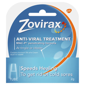 Zovirax Cold Sore Cream 2g
