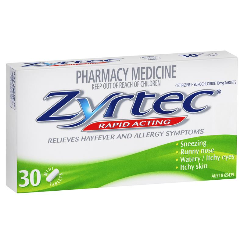 Zyrtec Tabs 10mg
