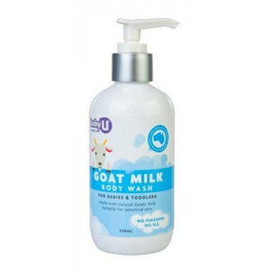 Baby U Goats Milk Body Wash 250mL