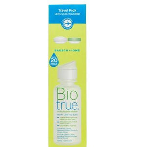 Bausch & Lomb Biotrue Travel Pack 60mL with Lens Case
