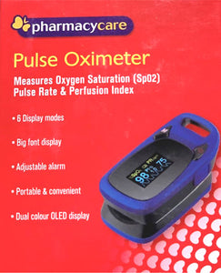Pharmacy Care Pulse Oximeter