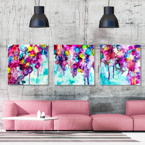 """Bougainvillea Dreaming Series"" SET OF TWO OR THREE"