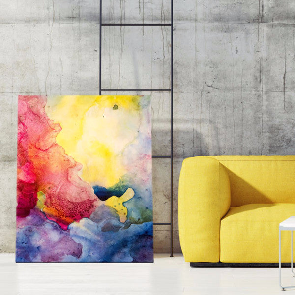 """Fluidity VII"" Decoration Bright artworks"