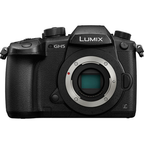 PANASONIC LUMIX DC-GH5 MIRRORLESS DIGITAL CAMERA BODY