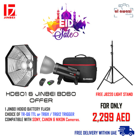 JINBEI HD 601 HSS BATTERY FLASH