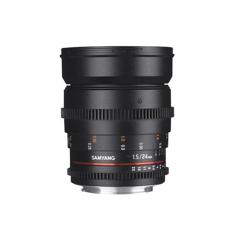 SAMYANG 24mm T1.5 ED AS IF UMC VDSLR II LENS