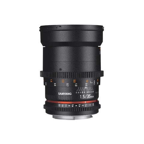SAMYANG 35mm T1.5 AS UMC VDSLR II LENS