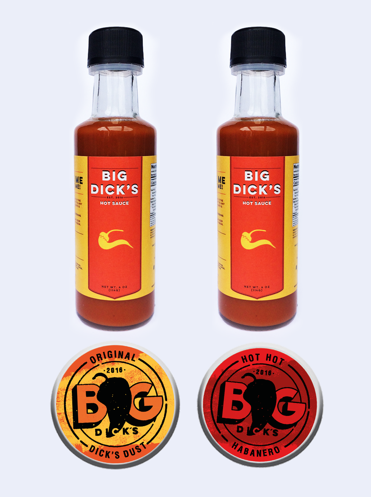 Big Dick's - Sauce & Rub Bundle