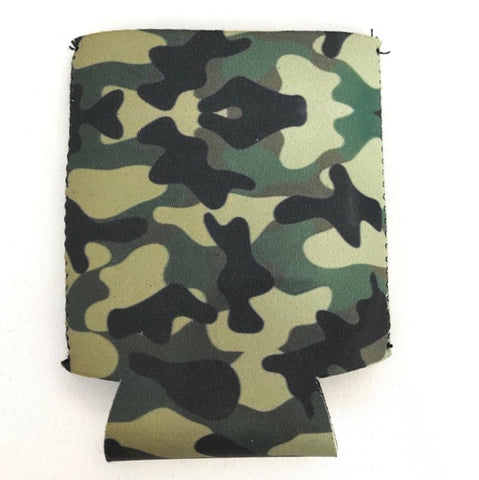 Can Cooler - Camo Green