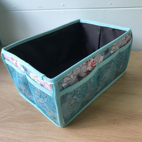 Craft Basket - Tropical Pastel