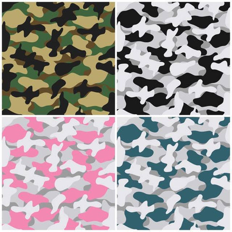 Camo Self Adhesive Vinyl Bundle