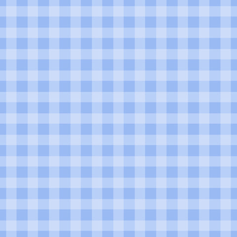 Gingham Light Blue Self Adhesive Vinyl