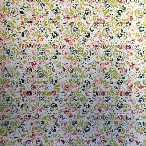 Hibiscus Background Self Adhesive Vinyl