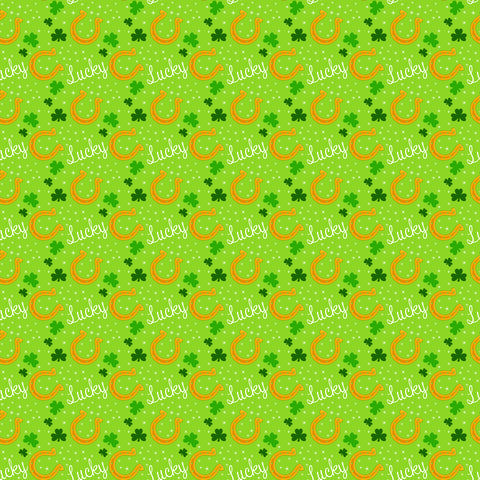 Irish Luck Self Adhesive Vinyl