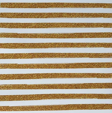 Pink Gold Stripes HTV