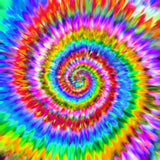 Rainbow Spiral Colourful Holographic Self Adhesive Vinyl