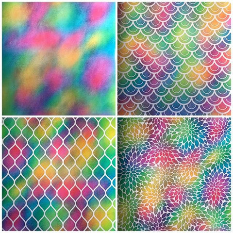 Tie Dye Self Adhesive Vinyl Bundle