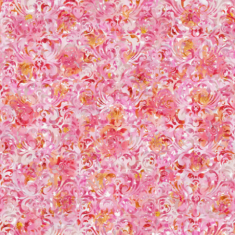 Watercolour Florals Background Self Adhesive Vinyl