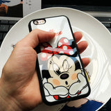 Mickey Mouse & Minnie Mouse iPhone Case