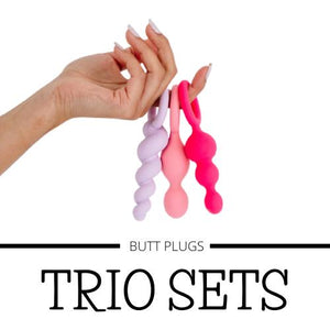 Butt Plug Trio Sets