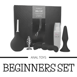 Beginners Anal Play Box Set