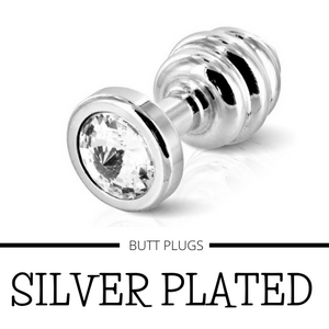 Silver Plated Butt Plugs