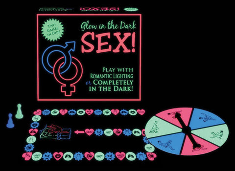 Glow-in-the-Dark Sex Board Game