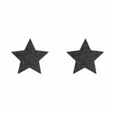 Flash Nipple Covers - Star - Black