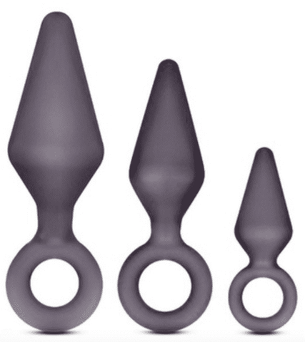 Anal Training Plugs -  Triple Pack