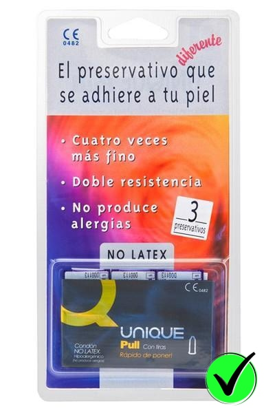 Condoms - Latex-free - 3 Pack