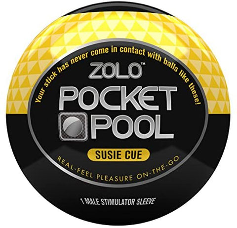 Pocket Pool Male Masturbator - Susie Cue - Single Unit