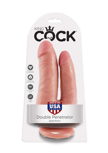 King Cock Double Penetrator - Light