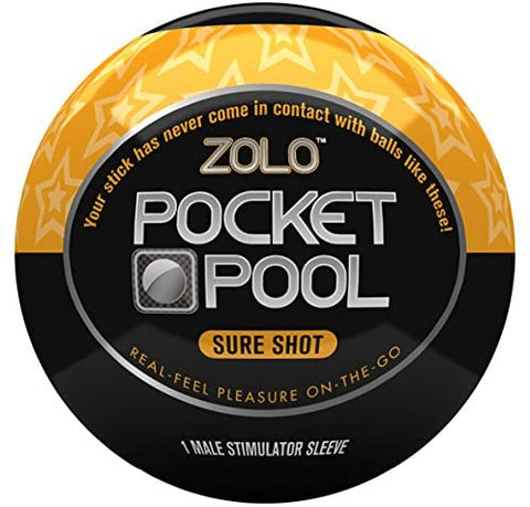 Pocket Pool Male Masturbator - Sure Shot - Single Unit