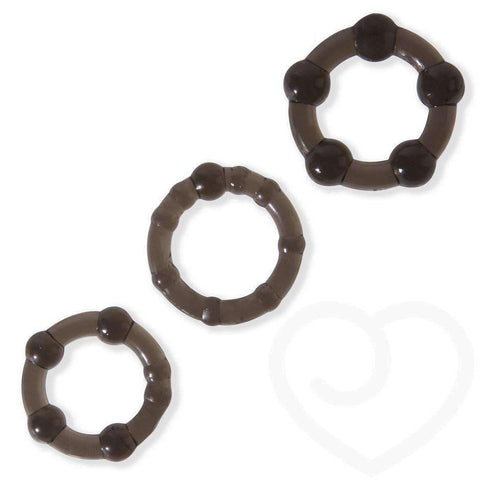 Cock Ring Three Pack
