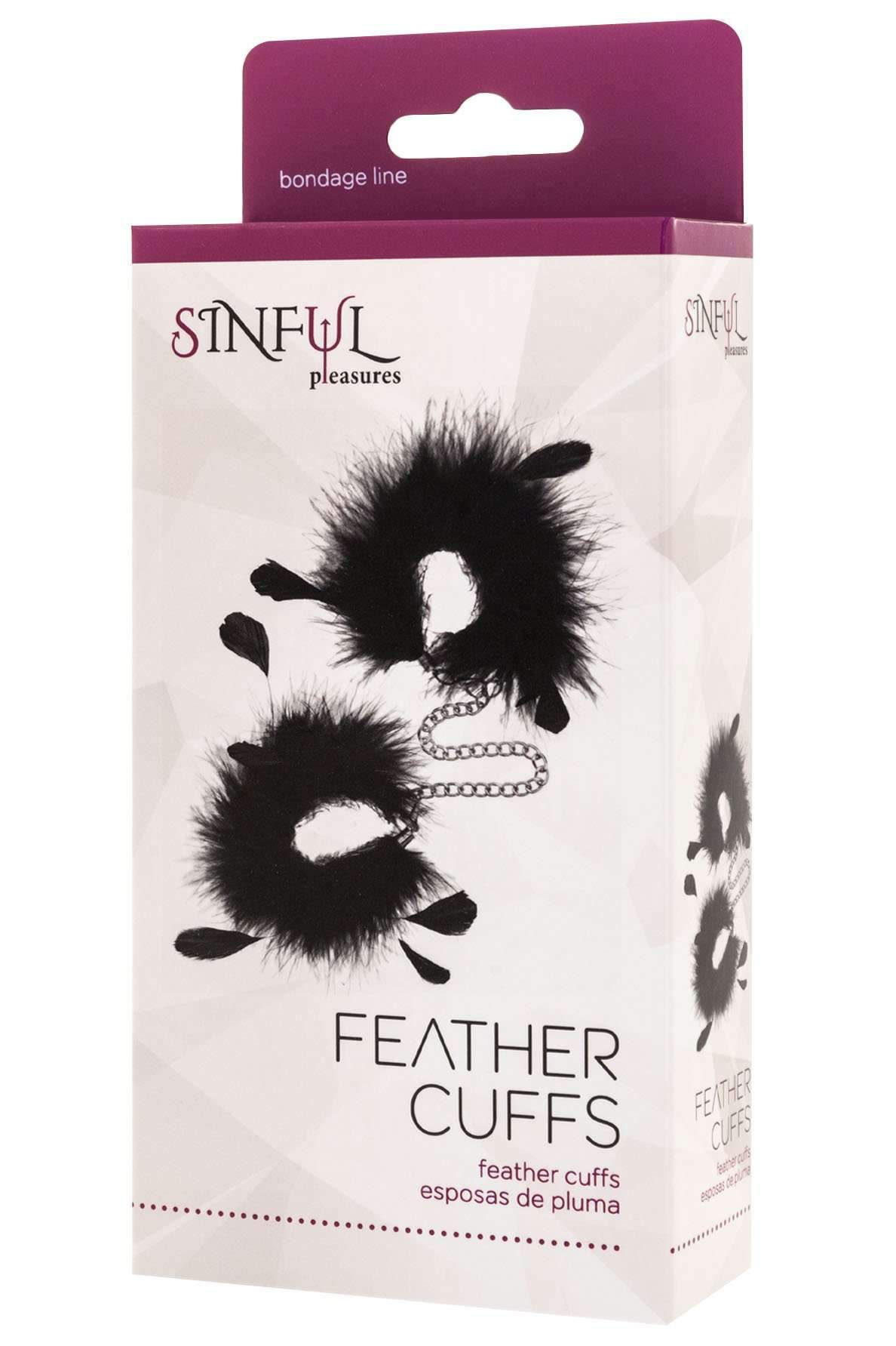 Feather Handcuffs - Various colours