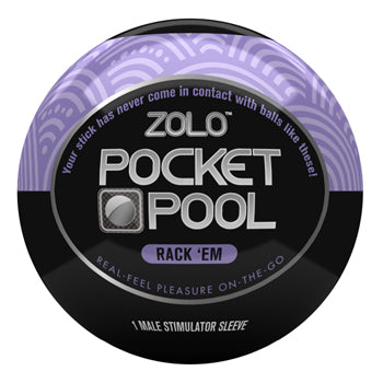 Pocket Pool Male Masturbator - Rack 'Em - Single Unit