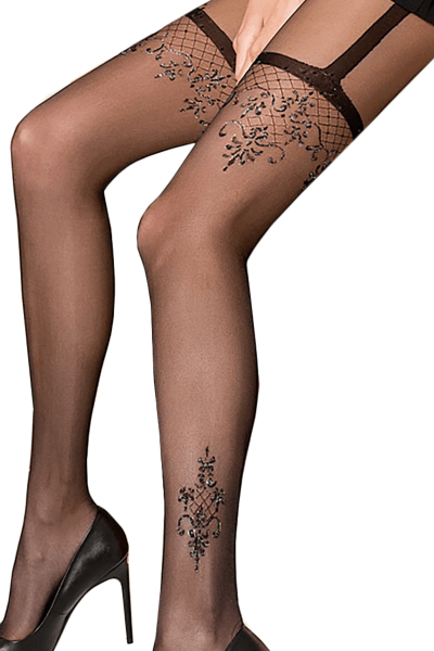 TI108 Gold Collection Tights Sparkly Black