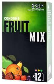 Fruity Flavoured Condoms 12 Mixed Pack Sex Essentials