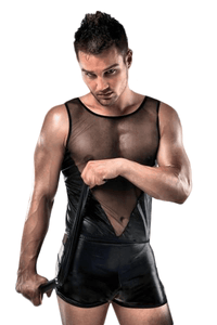 Passion Lingerie Men's Set Tank Top & Boxers