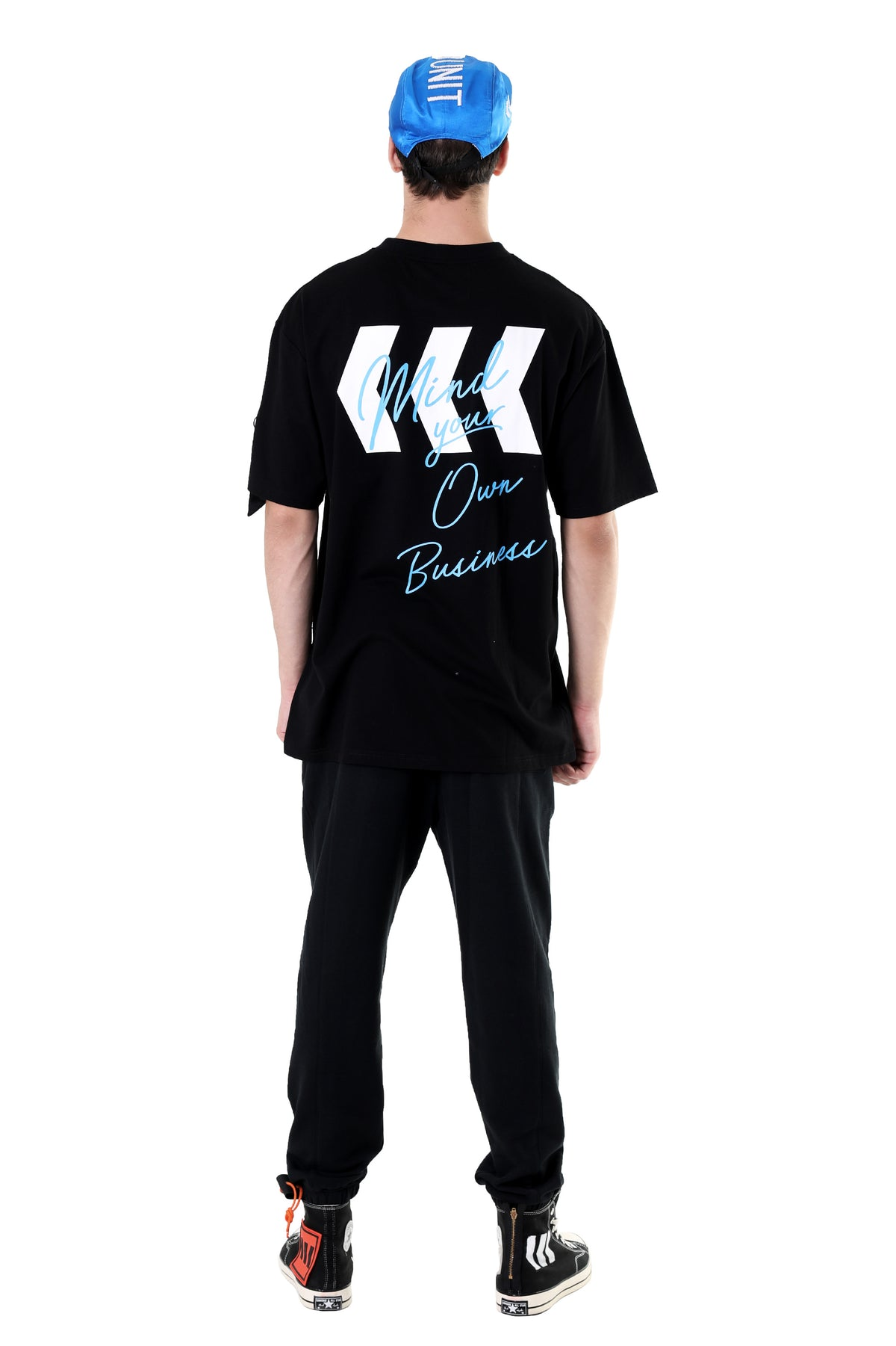 OWN BUSINESS TEE | BLACK