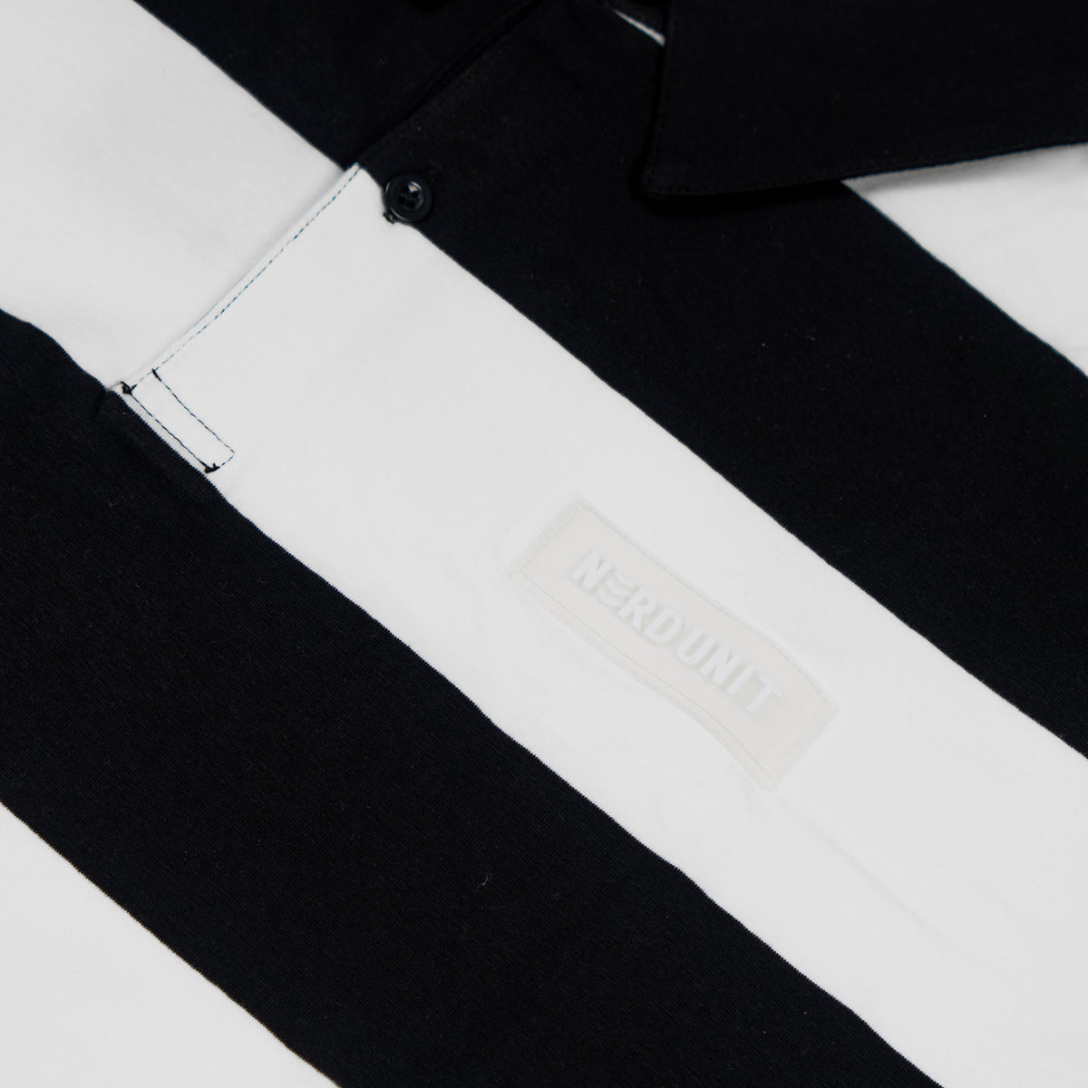 SS18 STRIPE LONG SLEEVES POLO TEE (SS18 ストライプ ロングスリーブ ポロ Tシャツ)