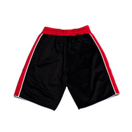 SS18 TRACK SHORTS (BLACK & RED)