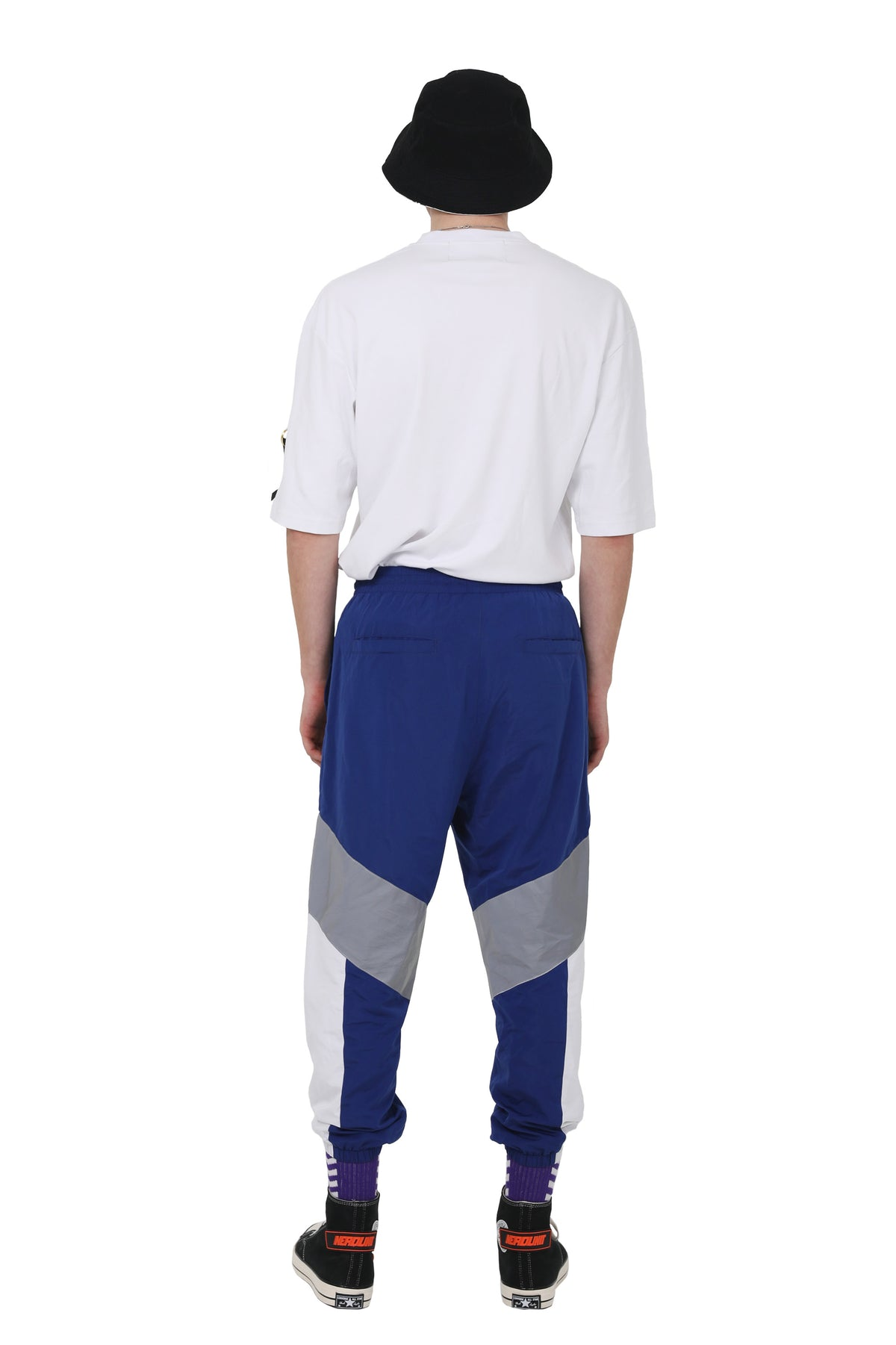 RETRO TRACK PANTS | NAVY