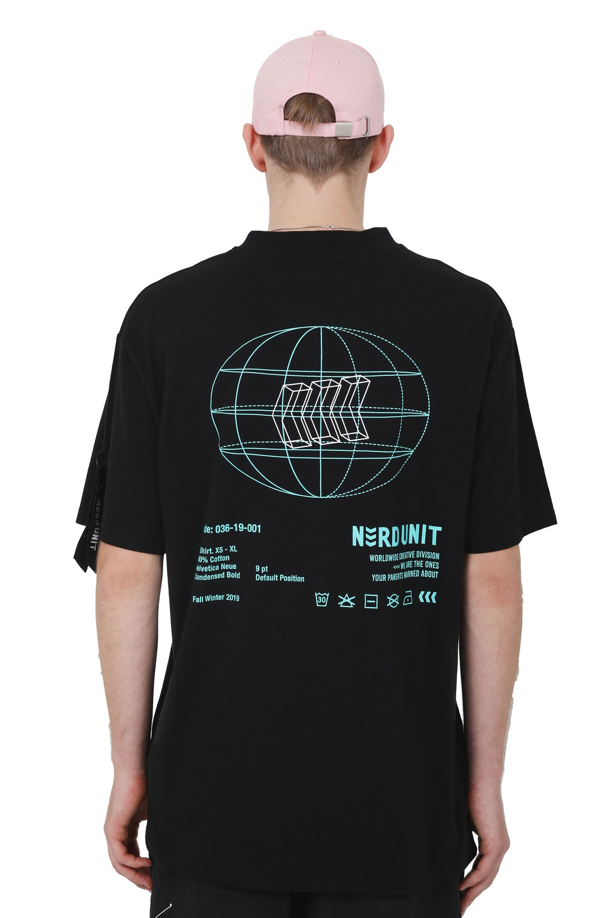 """SPECIAL CARE"" TEE BLACK"